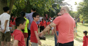NYG leader camp tai ecopark