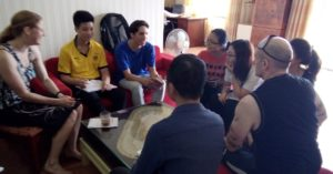 Coffee Talk Club at NYG Homestay