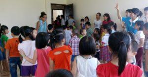 NYG Volunteer Teaching English